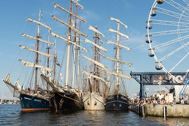 27. Hanse Sail in Rostock