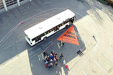 Ist richtig verhalten bus welche Gefälle